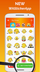 Big Emoji Mod Apk- large emoji for all chat messengers (Premium Feature Unlock) 7.0.0 2
