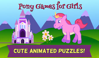 My Pony Games for Little Girls