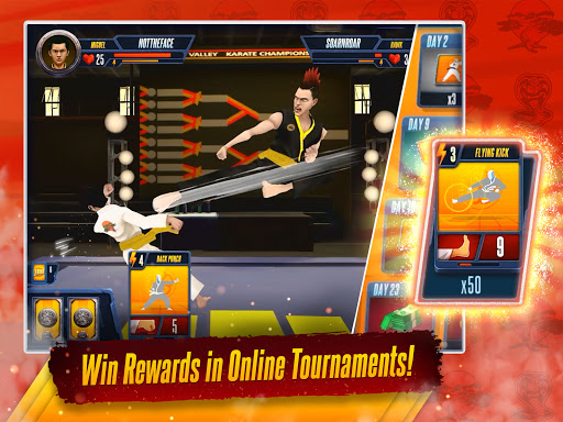 Cobra Kai: Card Fighter goodtube screenshots 10