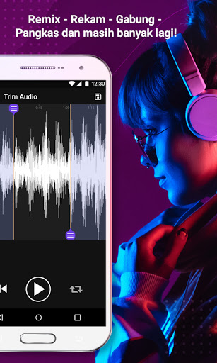 Editor Musik – Pangkas Audio, Penguat Volume