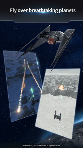 Star Warsu2122: Starfighter Missions apkpoly screenshots 13