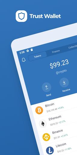 Trust: Crypto & Bitcoin Wallet  screenshots 1