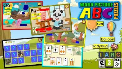 ABC preschool word pictures screenshot thumbnail