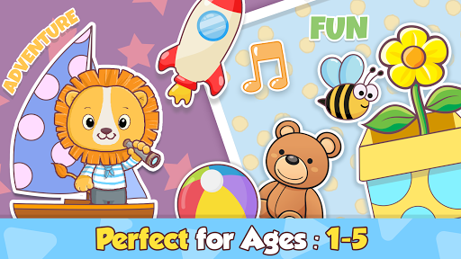 Toddler learning games for kids: 2,3,4 year olds screenshots 5