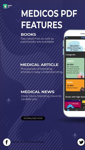 Medicos Pdf : download free medical book and slide 5.0.0 Screenshots 11