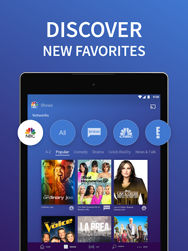 Foto do The NBC App - Stream Live TV and Episodes for Free