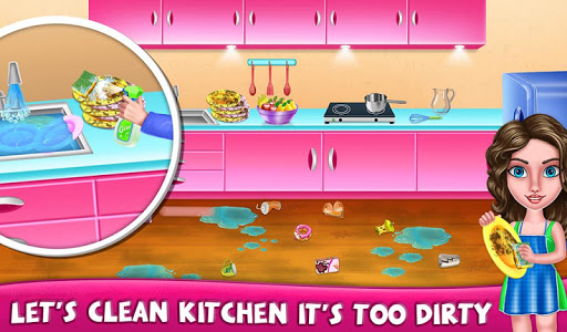 House Cleanup : Girl Home Cleaning Games 3.9.1 screenshots 8