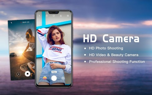 Professional HD Camera with Beauty Camera 6