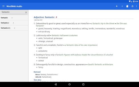 WordWeb Audio Dictionary 6
