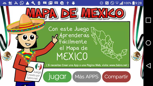 Mapa de Mexico Juego 2.005 updownapk 1