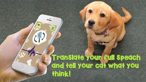 Dog Language Translator Simulator - Talk to Pet android2mod screenshots 1