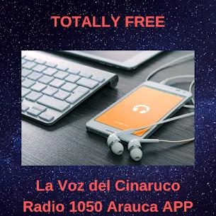 La Voz del Cinaruco Radio 1050 Arauca APP FREE 1.2 Mod Apk [Newest Version] 2