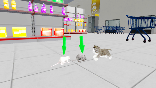 Kitten Cat Craft:Destroy Super Market Ep2 screenshots 8