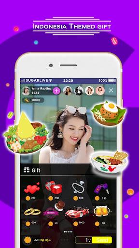 Sugarlive - Live Stream Indonesian Content  screenshots 4