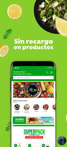 Jumbo App: Supermercado online a un click 2.0.1 screenshots 1