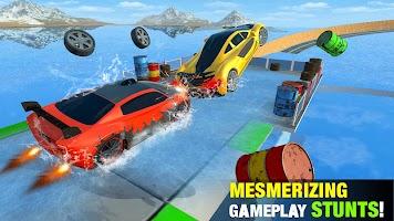Extreme Gt car stunts racing: ramp car stunt games