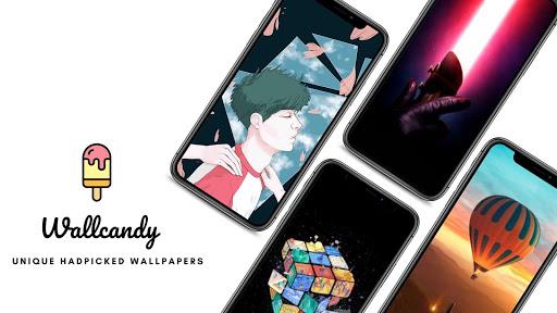 WallCandy - Unique HD, 4K, Amoled Wallpapers  screenshots 1