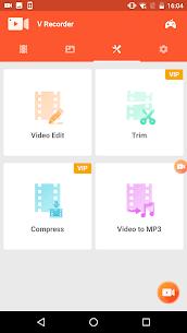 V Recorder Editor Mod Apk (VIP Unlocked + No Watermark) 7