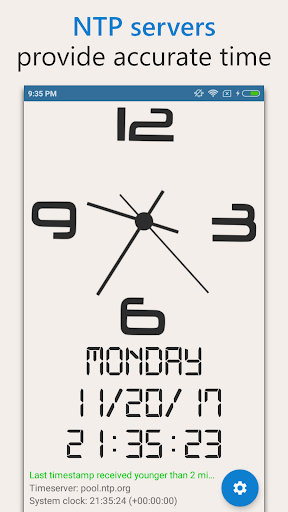 AtomicClock u2014 NTP Time (with widget) 1.7.6 screenshots 3