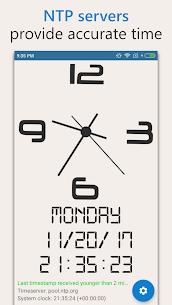 AtomicClock — NTP Time (with widget) Mod Apk (Pro  Unlocked) 3