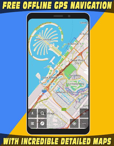 GPS Navigator with Offline Maps 2.6 Screenshots 2