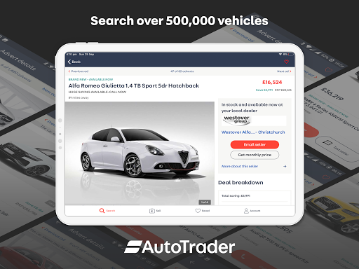Auto Trader: Buy new & used cars. Search car deals 6.10 Screenshots 9