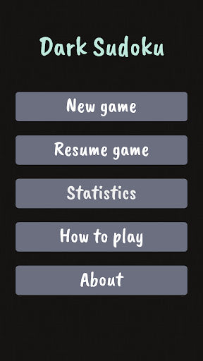 Dark Sudoku - Classic Sudoku Puzzle apklade screenshots 2