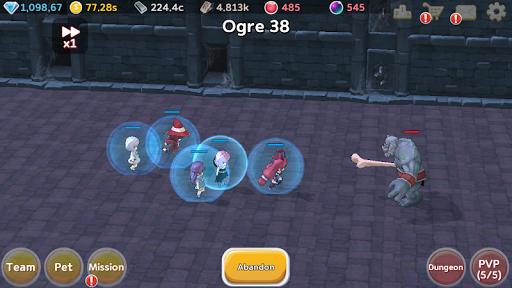 Super Girl Wars: Auto-play RPG 1.76 screenshots 8