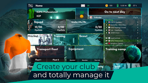Live Cycling Manager 2021 1.11 screenshots 1