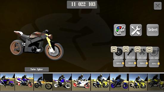 Wheelie King 3D - Realistic free  motorbike racing 1.0 Screenshots 4