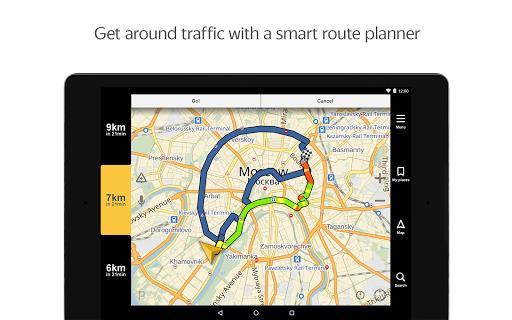 Yandex.Navigator 5.12 Screenshots 11