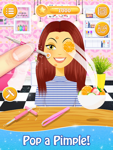Salon Games for Girls: Spa Makeover Day  screenshots 11