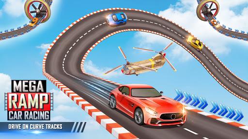 Mega Ramp Car Stunts Racing : Impossible Tracks 3D  screenshots 1