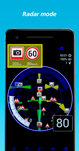 MapcamDroid Radar detector 3.83.1068 screenshots 1