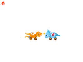 Dinosaur Smash: Driving games for kids