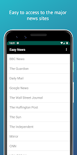 Easy News (BBC/CNN/Sun/Mirror)  For Pc 2020 (Download On Windows 7, 8, 10 And Mac) 1