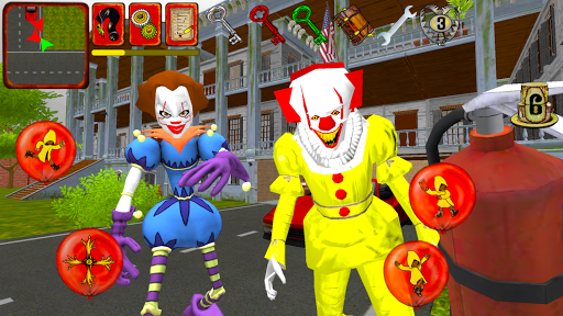 Clown Brothers. Neighbor Escape 3D apkpoly screenshots 2