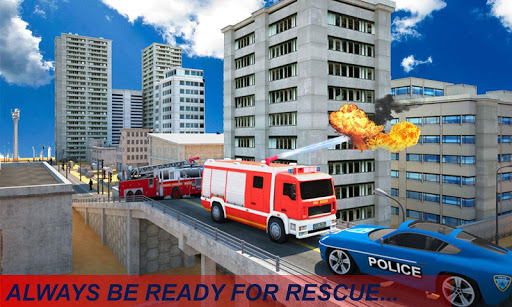 Télécharger gratuit Fire Truck Emergency Rescue APK MOD 1