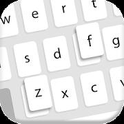 Flat White - Keyboard Theme
