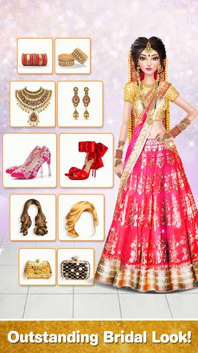 Indian Wedding Stylist - Makeup &  Dress up Games 0.17 screenshots 4