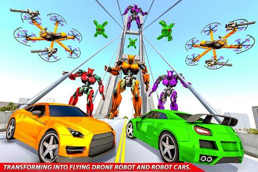Drone Robot Car Transforming Gameu2013 Car Robot Games 1.1 Screenshots 7