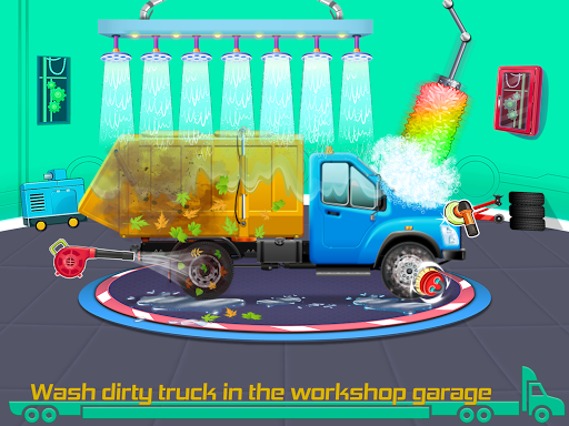 Kids Truck Games: Car Wash & Road Adventure android2mod screenshots 10