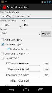 Your Freedom VPN Client 20210618-01 Screenshots 4