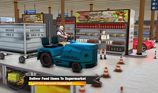 Supermarket Cargo Transport Truck Driving Sim 2019  screenshots 8