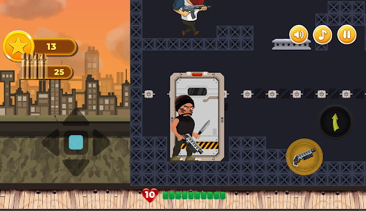 Revenge of Hero: 2D Platform Action Shooter Game For Android 5