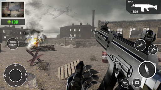 Call of the WW2 Gun Games: Counter War Strike Duty goodtube screenshots 2