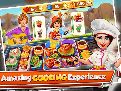 Cooking Crush - Madness Crazy Chef Cooking Games 2.2