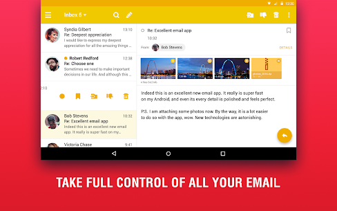 Lite Mail: Hotmail, Gmail, Yahoo Email Client 5