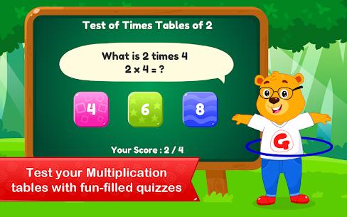 Multiplication Tables   Maths Games for Kids Apk 2