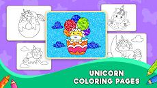 Unicorn Glitter Coloring Book: Coloring Unicornのおすすめ画像2
